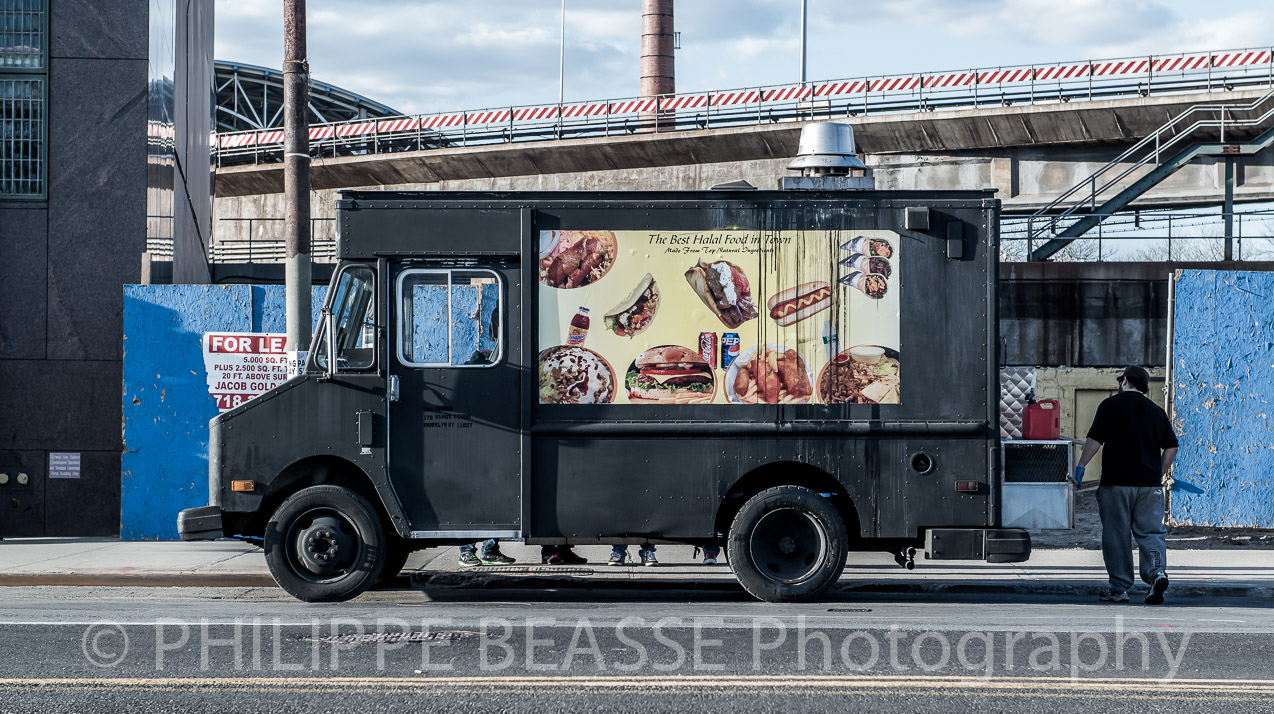 Food truck in Coney Island