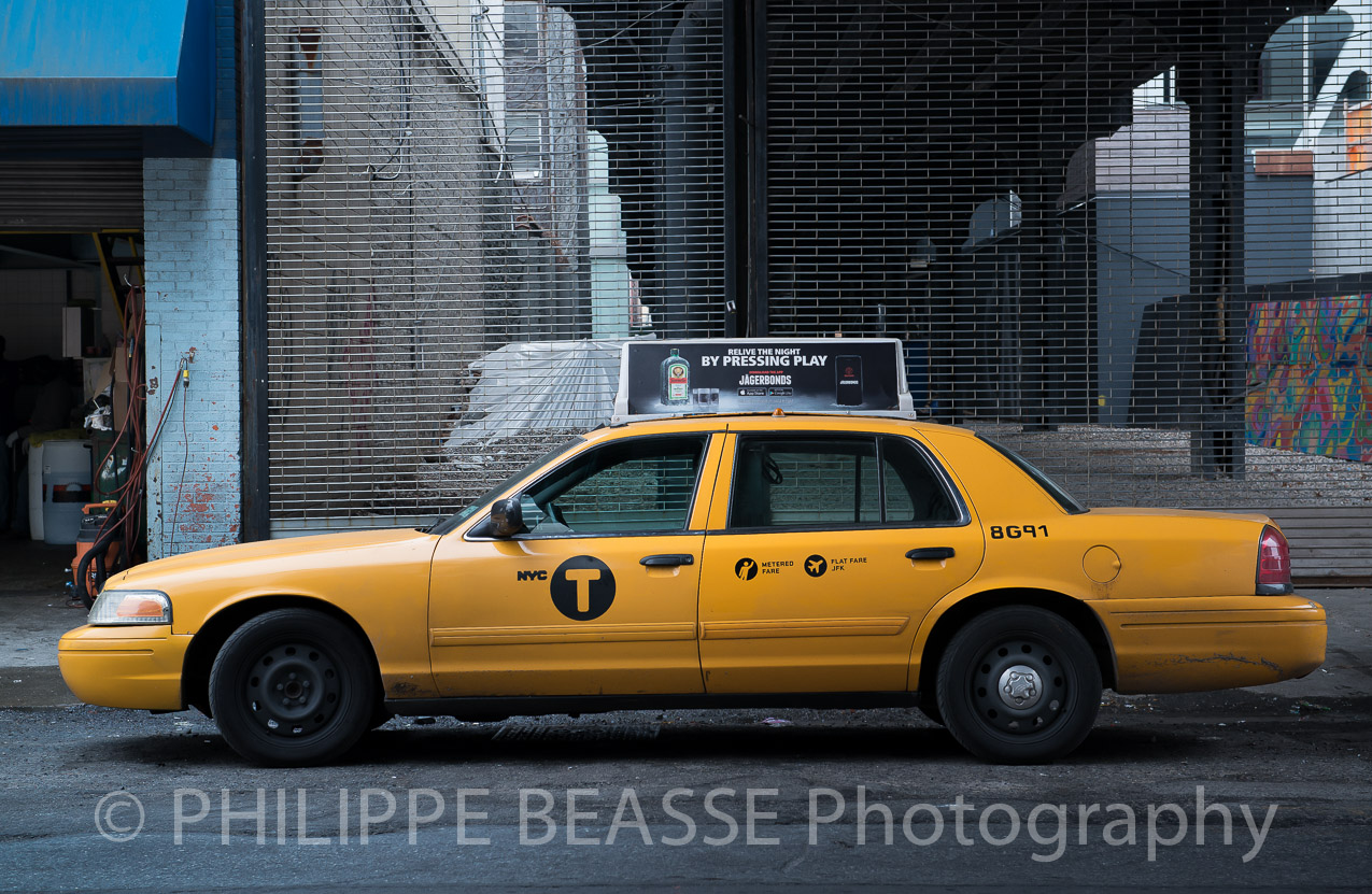 Yellow Taxi New York